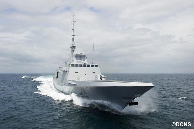 La fragata multimisión FREMM el fin de que la Marina Real marroquí está llevando a cabo pruebas en el mar frente a la costa francesa en preparación para la entrega a finales de este año. En junio, el constructor naval francés DCNS ha completado con éxito una tercera serie de pruebas para comprobar el funcionamiento del sistema de combate del barco.