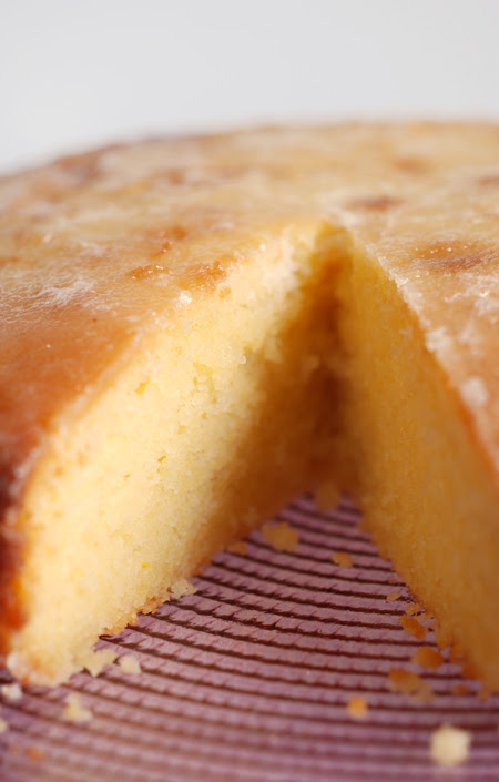 Semolina and Yoghurt Syrup Cake© by Haalo