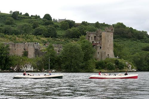 Passing Urquhart Castle