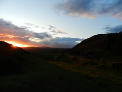 At Lough Tay / Wicklow Mountains