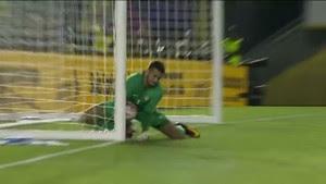 Alisson falha em Brasil x Equador (Foto: Reprodução de vídeo)