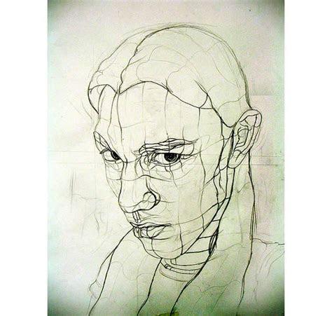 images  contour drawing  pinterest