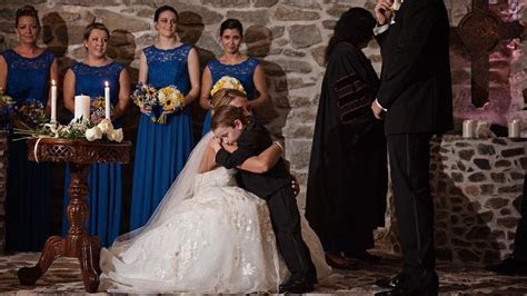 Bride Makes Vows to New Stepson And His Mother During