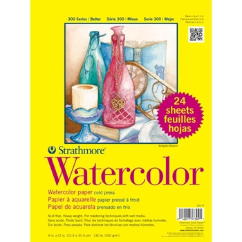 Strathmore WATERCOLOR 9x12 SHEETS 373091