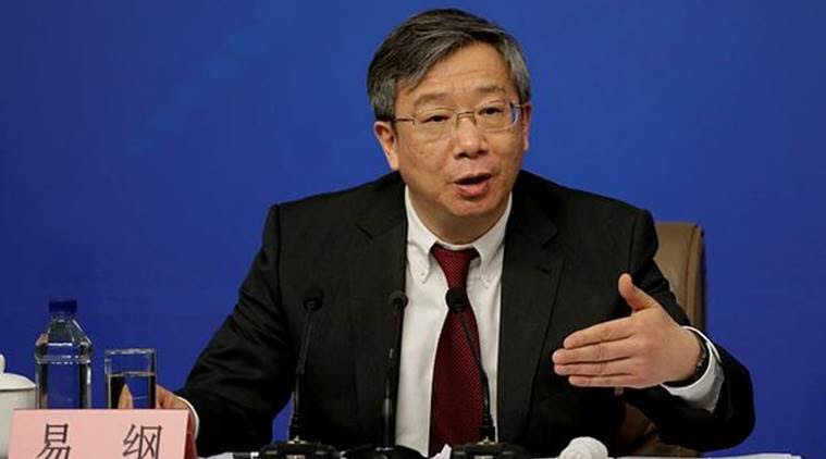 Yi Gang, 60, received his Ph.D. from the University of Illinois and taught at Indiana University. (Reuters)