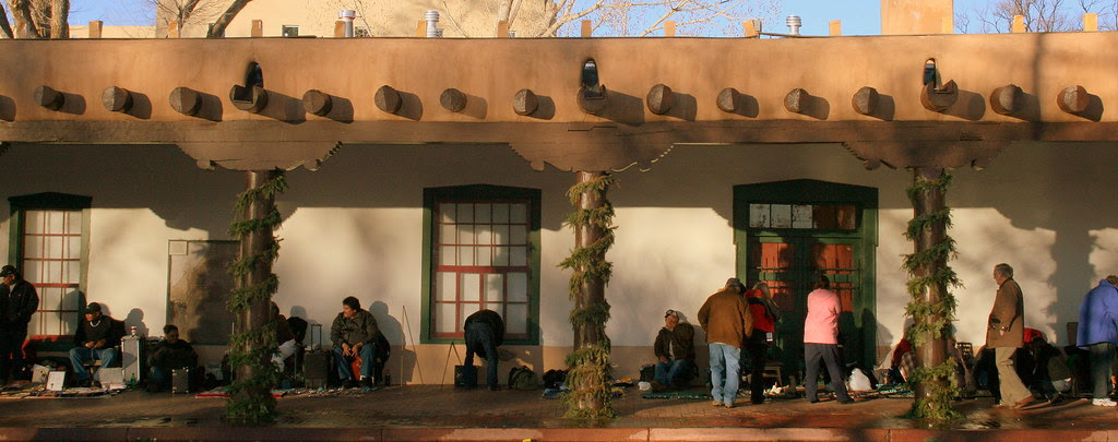 The Palace of the Governors, New Mexico