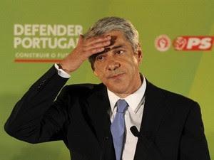 José Sócrates admite derrota de seu partido em Portugal. (Foto: AFP)