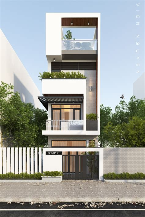 small  tall modern building  dubai powered