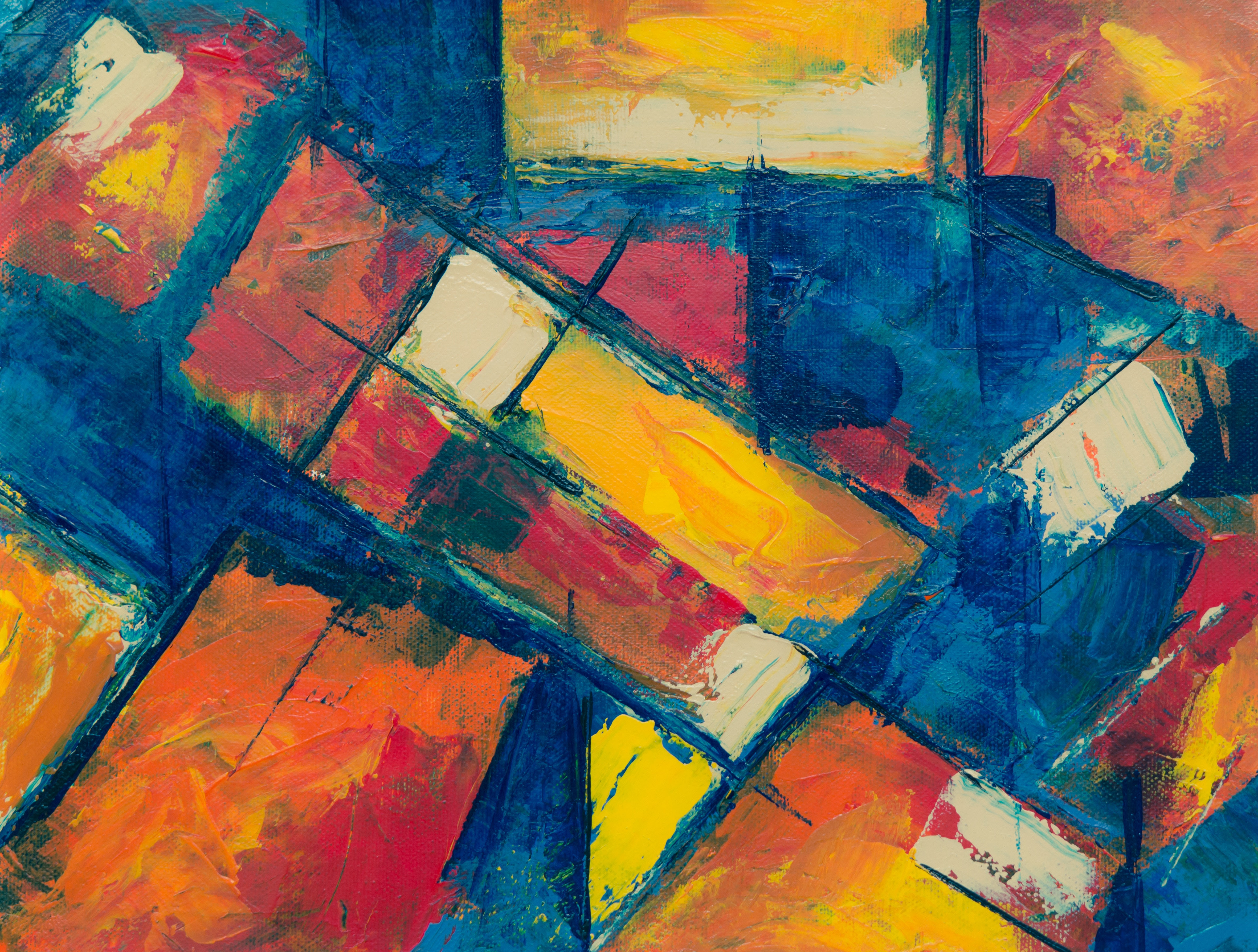 Abstract Painting  C2 B7 Free Stock Photo