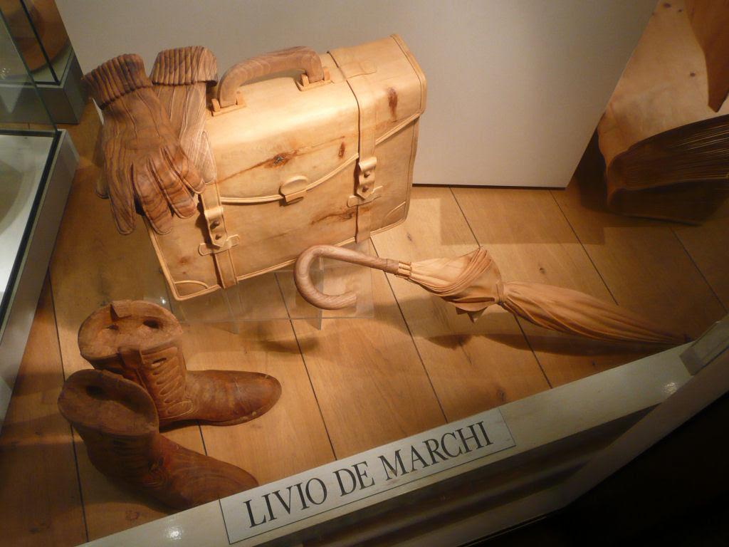 O fascinante mundo de madeira de Livio De Marchi 14