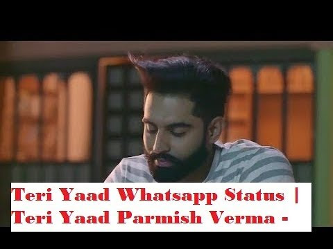 Teri Yaad Parmish Verma - Whatsapp Status Mp4,HD Download |  RPV STATUS