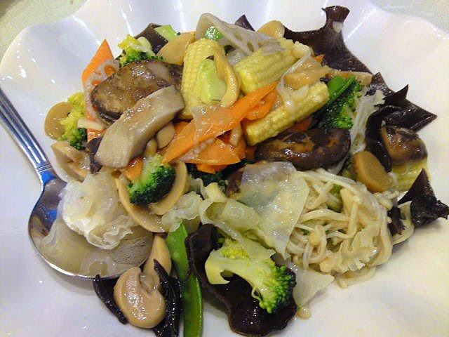 Stir-fried Eight Treasure Vegetables