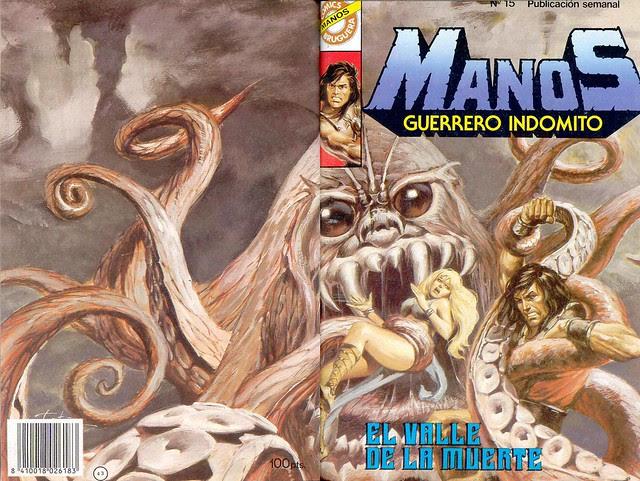 Manos Guerrero Indomito, Cover #15