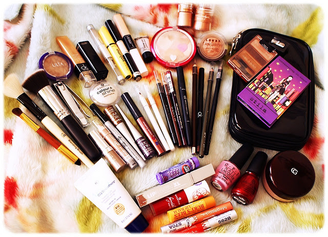 Ladies makeup items list