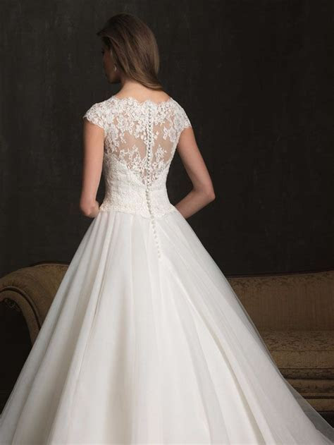 When lace and tulle team up you get the lovely Allure