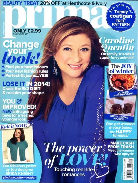 PRIMA Magazine - February 2014 - Cover