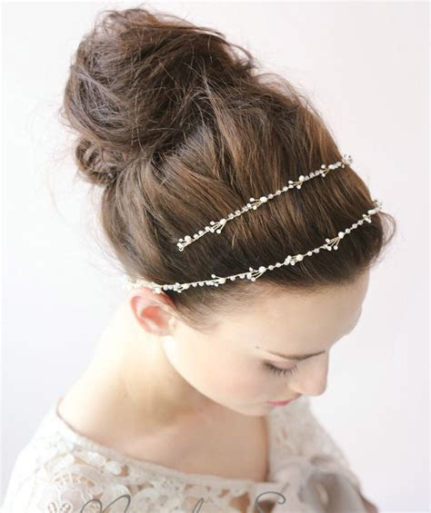 Buy Wholesale Luxury Elegant Beaded Crystal Hair Band