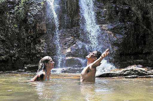 Alto Paraíso de Goiás: o município é um dos destinos turísticos que atraem muitos brasilienses (Edilson Rodrigues/CB/D.A Press - 21/12/12)