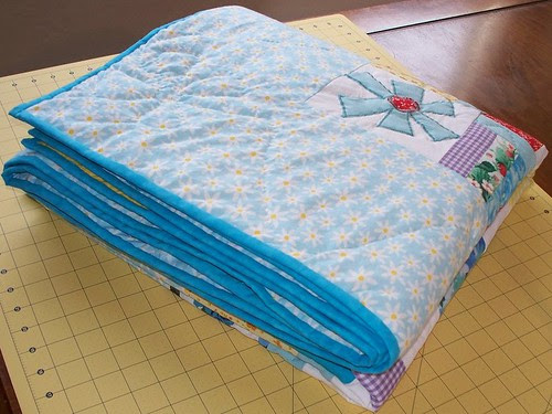 folded quilt