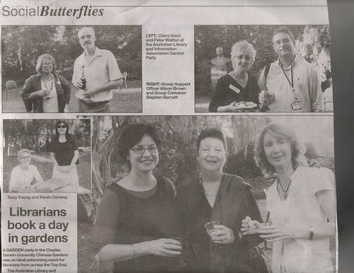 Garden Party Social Butterfly