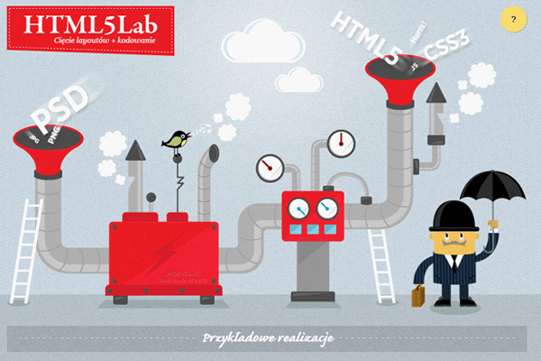 html5 lab website portfolio studio