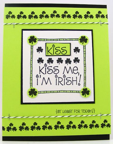 Kiss Me, I'm Irish Card
