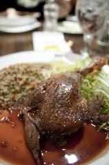 Duck Confit, Uraban Tavern, Hilton San Francico