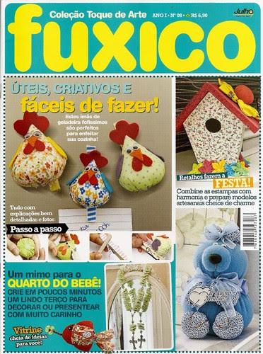 Aqui tem trabalho meu,revista editorial julho by Vera Arte com Giz