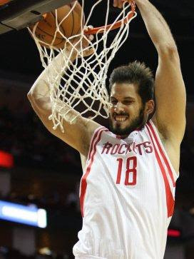 <center><b>Omri Casspi, Forward</center></b>  <b>2014-15 contract: </b>$1,063,384, unguaranteed   <b>Comment: </b>After a promising start, primarily as a range-shooting four, Casspi fell out of the Rockets rotation completely, never quite filling the enormous void as a backup small forward.  <b>Grade: </b>C