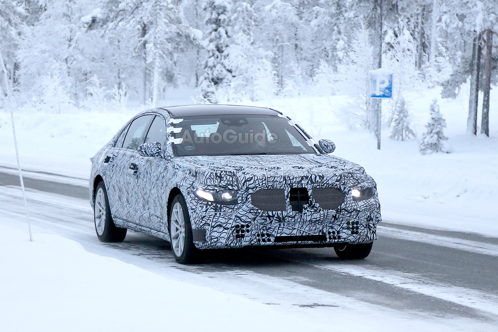 2021 Mercedes-Benz S-Class Breaks Cover While Cold Weather ...