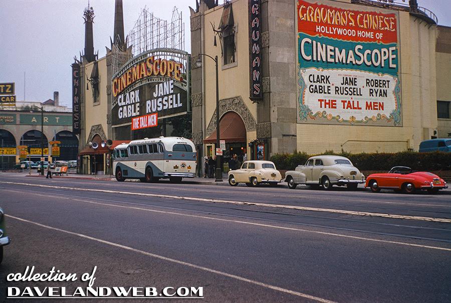 Grauman's Chinese Theatre vintage September 1955 photo