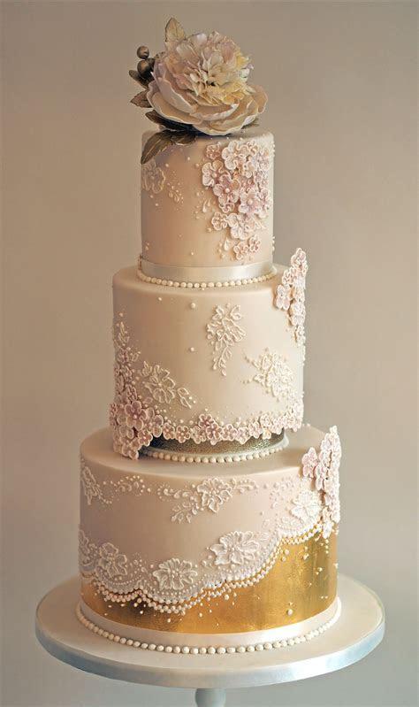 Rose gold wedding cake   Caked in 2019   Cake, Wedding