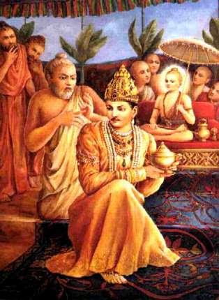 The Tale of Vamana - Bali Chakravarthy - Shukracharya
