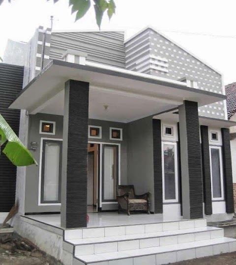 Foto Teras Rumah Minimalis Modern Terbaru