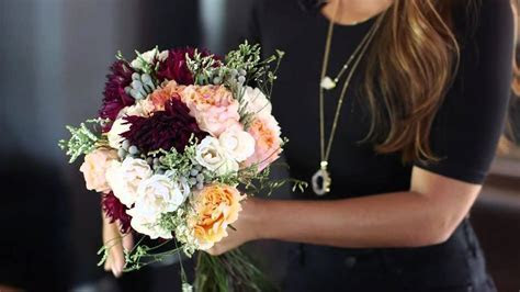 How to Make a Wedding Bouquet   YouTube