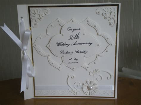 30th Wedding Anniversary   Anniversary Cards   Pinterest
