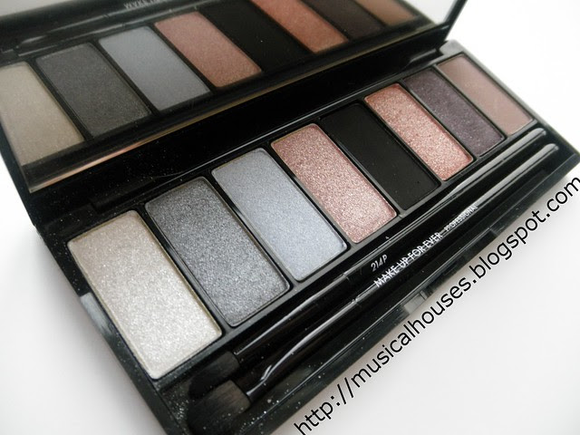 MUFE Midnight Glow Palette close