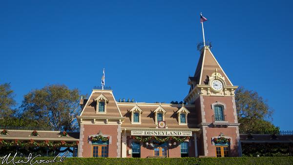Disneyland Resort, Disneyland, Main Street U.S.A., Christmas Time