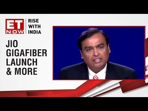 Jio GigaFiber launch