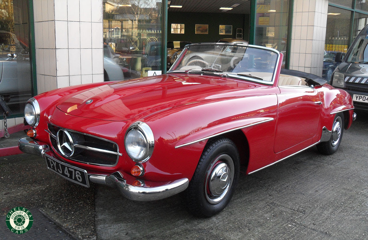 1957 Mercedes 190 SL For Sale | Chelsea Cars
