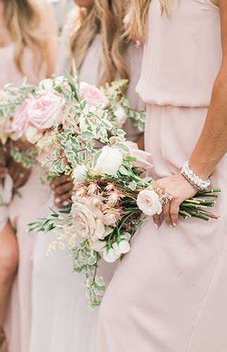Savannah and Cole LaBrant's Stunning Blush Wedding