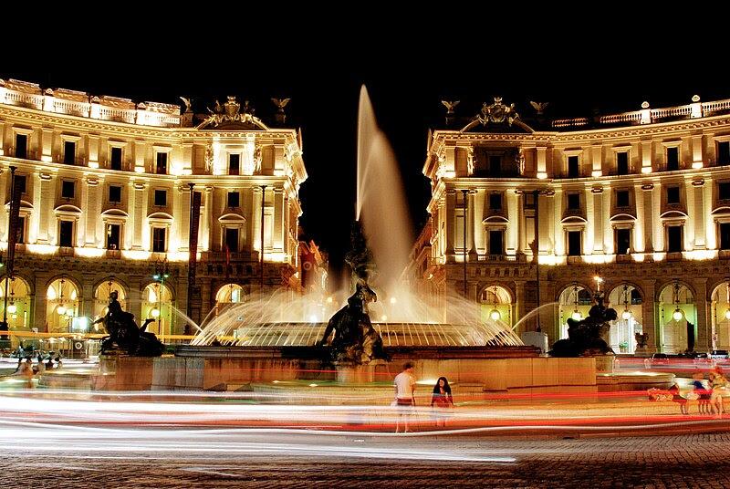 File:Piazza della repubblica hdr.jpg