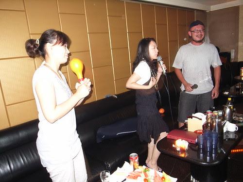 小珊生日:錢櫃KTV