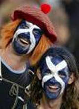 Scottish fans: Saturday, just before injury time