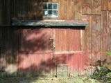 Barn door: Easy to miss