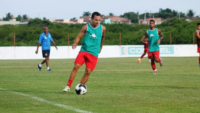 Alan Silva - lateral do América-RN (Foto: Canindé Pereira/Divulgação)
