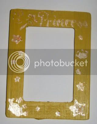Princess Frame Yellow & Gold