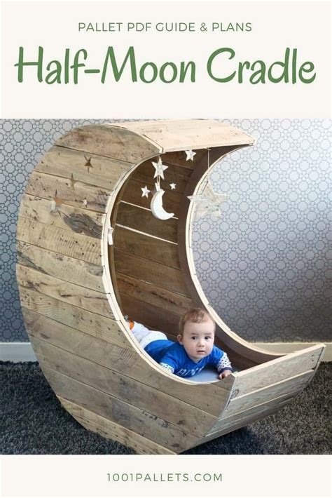 DIY PDF Pallet Half Moon Cradle ? 1001 Pallets ? FREE DOWNLOAD