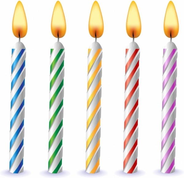 Birthdaycandles Vector Images Illustrations And Clip Art