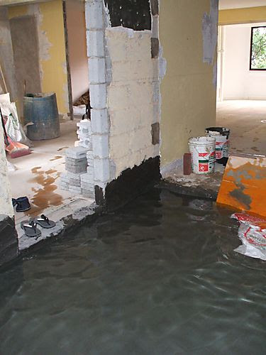 Water proofing kitchen - View to Living Room